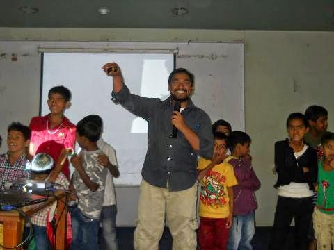 Gospel To The Slum Kids 2014