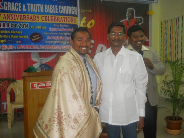 Hyderabad Revival Meeting Jan 2014